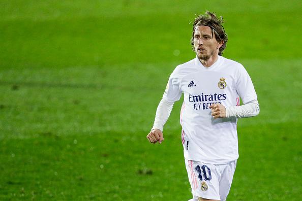 Madrid Extend Modric