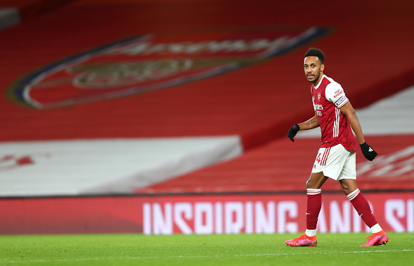 Aubameyang ruled out