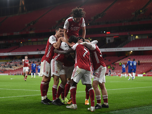 Arsenal youngster's