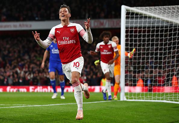 Arsenal number ten