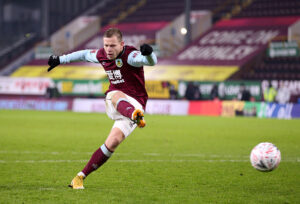Burnley Forward Matej Vydra