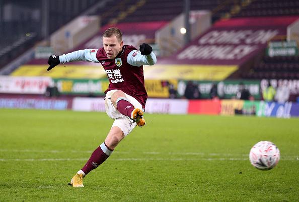 Burnley Forward Matej Vydra