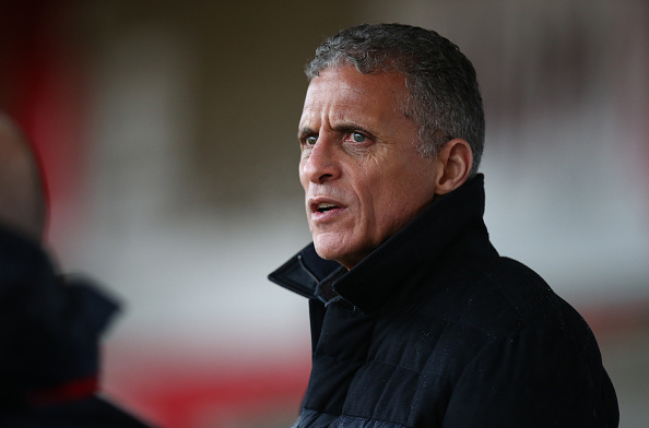 Keith Curle Sacked