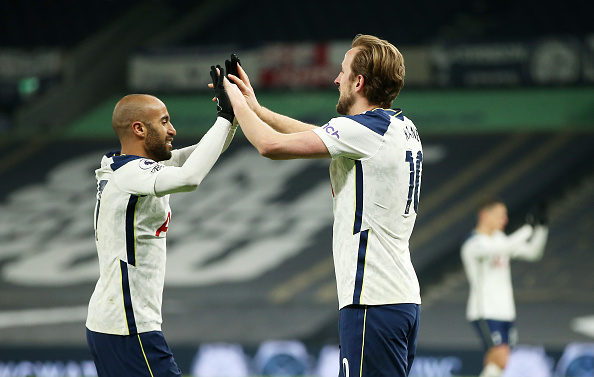 Lucas Moura: Tottenham