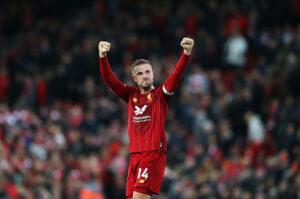 Liverpool Players Make Stand