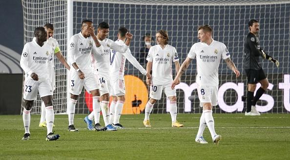 Real Madrid midfield