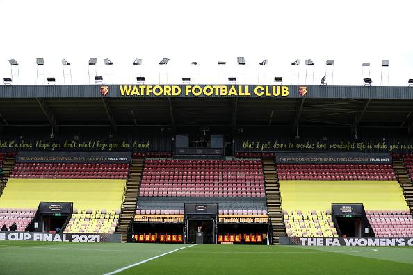 Watford versus Millwall