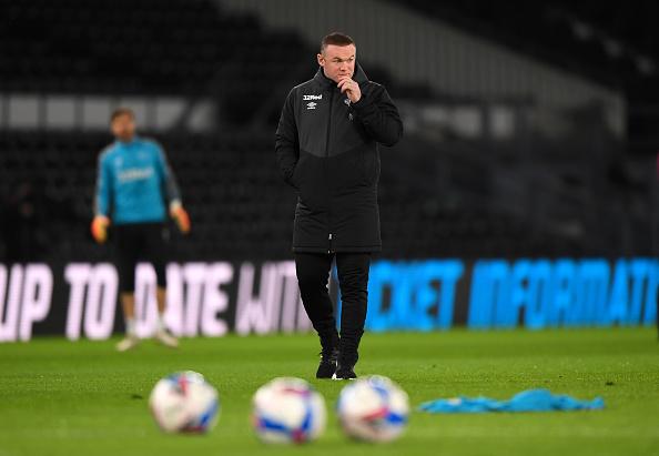 Wayne Rooney's Derby County
