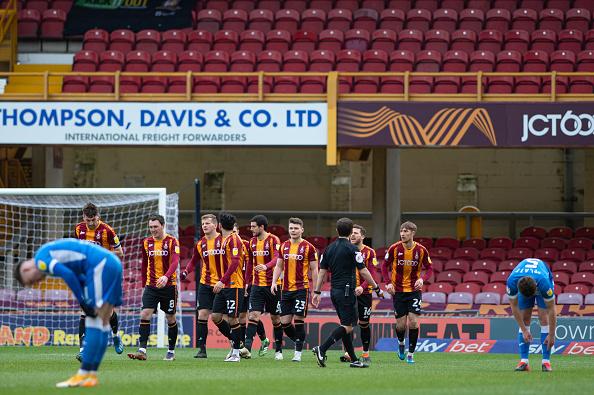 goal shy Bradford City