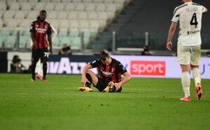 Ibrahimović injury