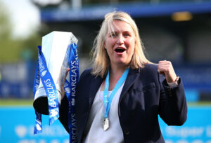 Chelsea manager Emma Hayes