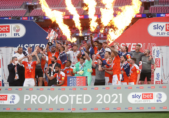 Blackpool in the Championship