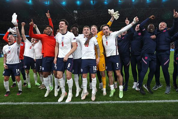 England's success