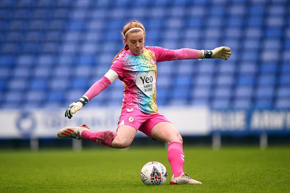 Goalkeeper Sophie Baggaley