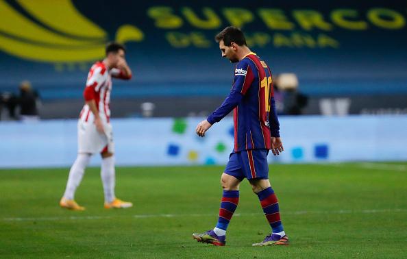 Messi leaves