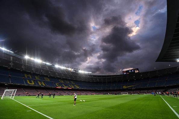 Planes para la remodelación del Nou Camp en Barcelona