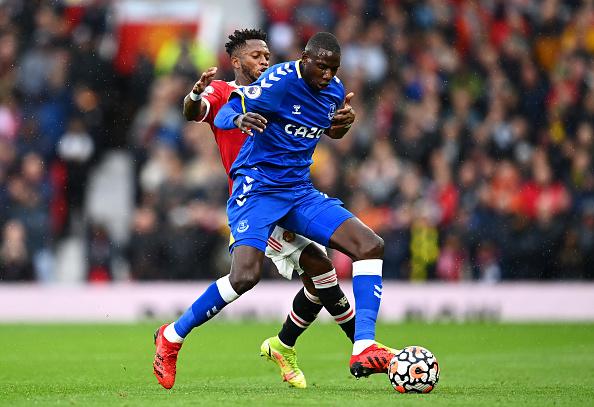 Everton Midfielder Abdoulaye Doucoure