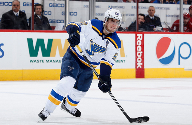 promo code 1f608 60a9e Alexander Steen's Future With The St. Louis Blues - Last ...