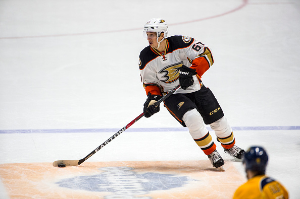 reputable site 93a8c 666e5 Anaheim Ducks Rickard Rakell out tonight with an ankle injury