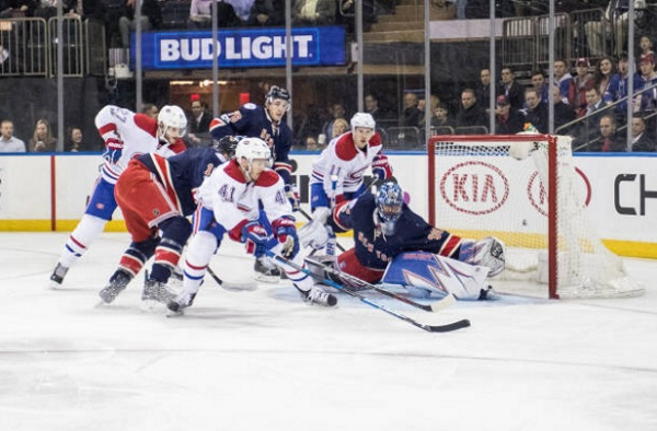 Image result for Montreal Canadiens Vs New York Rangers