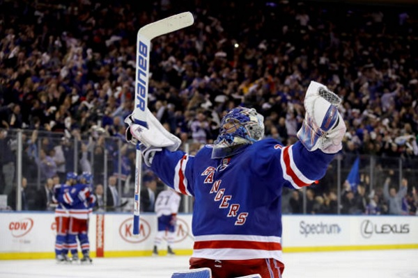 Henrik Lundqvist new york rangers vs montreal canadiens first round series recap; New York Rangers draft