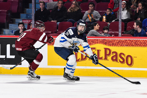 Kristian Vesalainen Affiliated NHL Prospects WInnipeg Jets Prospects