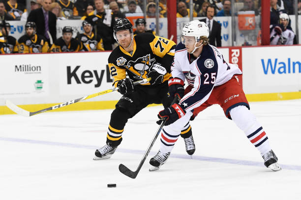 Pittsburgh Penguins vs Columbus Blue Jackets First Round Series ...