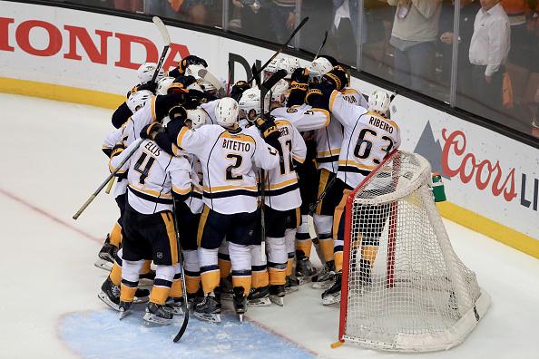 Nashville Predators vs Anaheim Ducks 2016