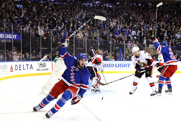 competitive price 85218 d50b0 Mika Zibanejad Re-Signs With New York Rangers - Last Word on ...