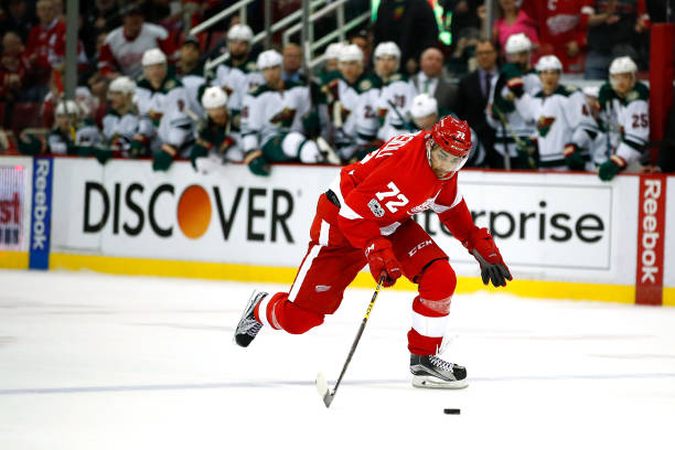 Andreas Athanasiou, Red Wings agree to 1-year contract