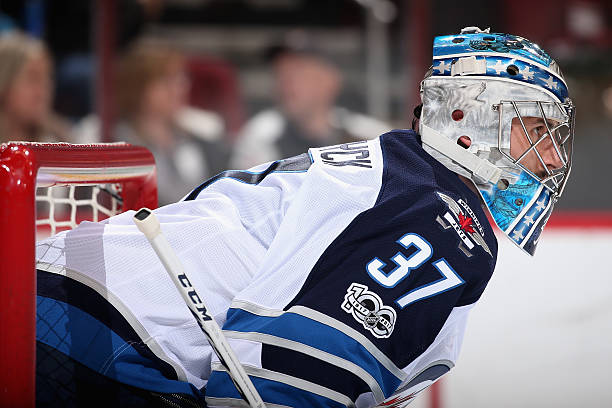 online store 2b28e bd5b9 Connor Hellebuyck, Marc-Andre Fleury Extensions, Anaheim ...