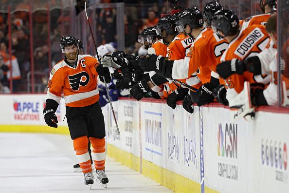 Jordan Weal Philadelphia Flyers Player Swingman Jersey