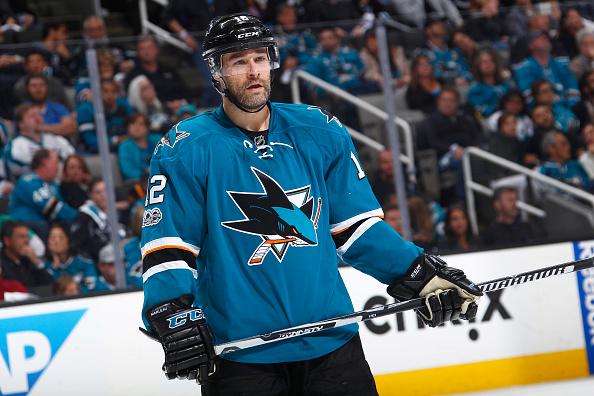 Sharks Plan B Patrick Marleau
