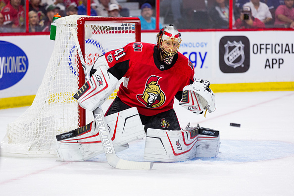 Craig Anderson Signs Two Year Deal With Ottawa Senators Last Word