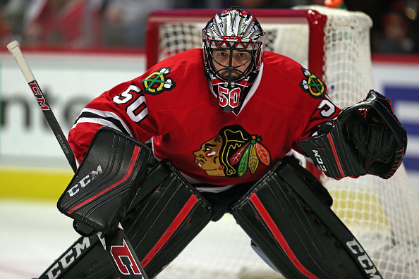 Corey Crawford Chicago Blackhawks Summer
