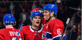 The Montreal Canadiens Win First Game in Regulation this Season
