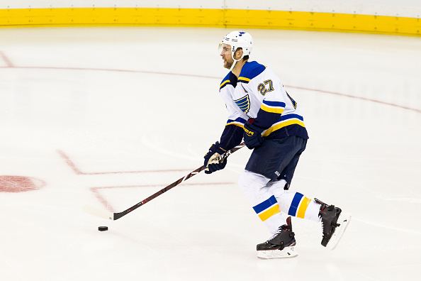 super popular f6570 95a4f St. Louis Blues send Alex Pietrangelo to Injured Reserve