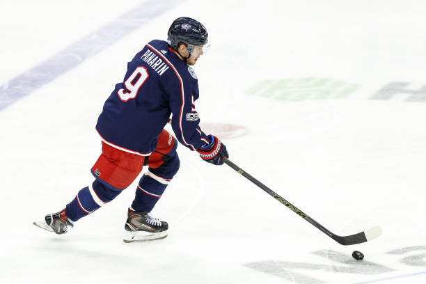 aae56f4abe7 Columbus Blue Jackets Artemi Panarin Day to Day With Lower-Body Injury