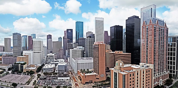 Houston City Skyline