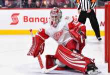 Detroit Red Wings goalies; Jimmy Howard