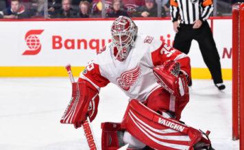 Detroit Red Wings goalies; Jimmy Howard