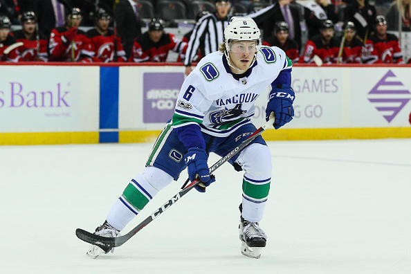 afb53172e Canucks Brock Boeser Injured; Out Indefinitely with Hand Issue