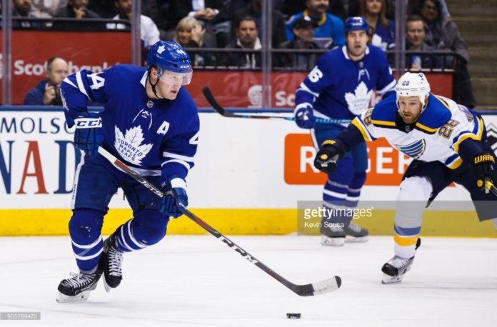 b5fdc35ebdc Toronto Maple Leafs' Morgan Rielly Placed On IR With Upper-Body Injury
