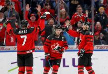 Dillon Dube 2018 World Junior Hockey Championships