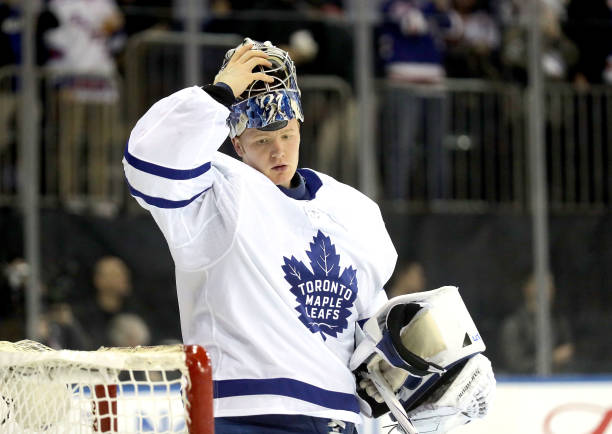 various colors 179f6 6dddd Toronto Maple Leafs Frederik Andersen, NHL 'Underclass Hero'