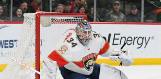 James Reimer Panthers Win Streak
