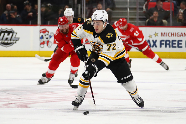 Panthers trade for Boston forward Frank Vatrano, give up third-round pick