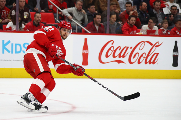 Red Wings Reportedly Trade Tatar For Haul Of Draft Picks