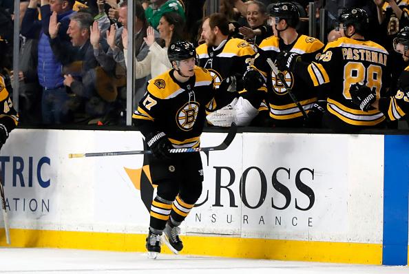 Ryan Donato Thrills In Bruins Debut Despite Overtime Loss — Mitch's Sports Report