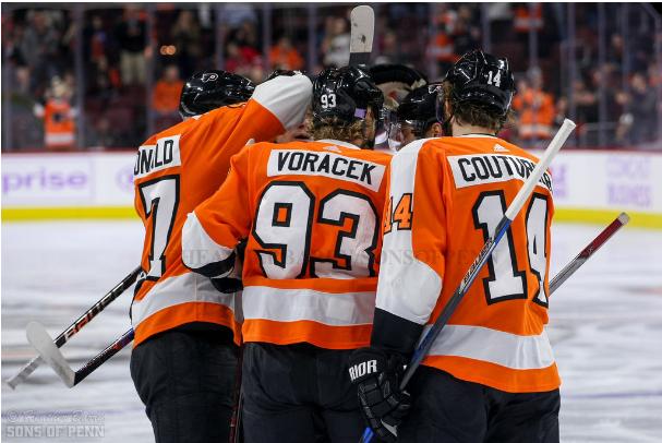 2018-19 Philadelphia Flyers PDP